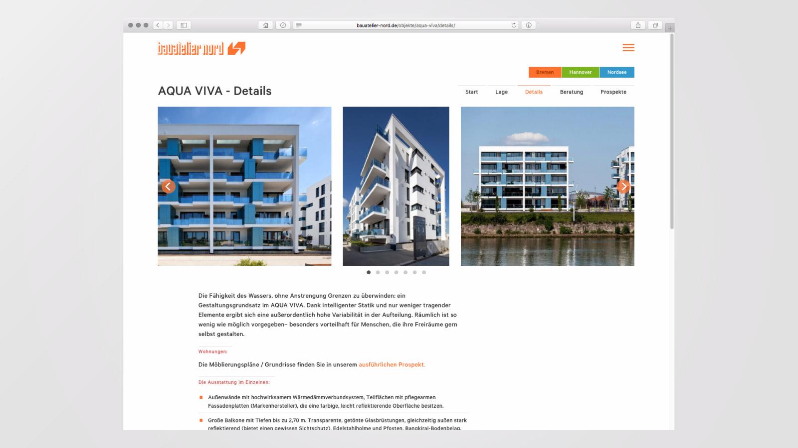 """Bauprojekt """"Aqua Viva"""""""