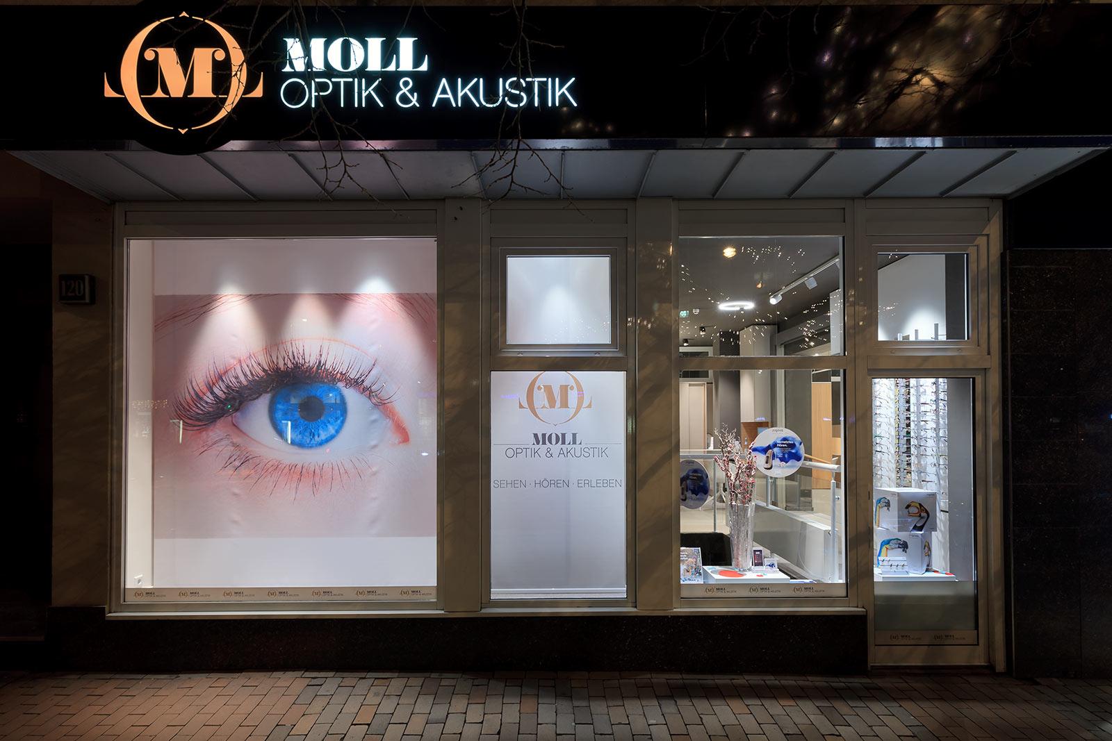 "Foto ""Optiker Moll"""